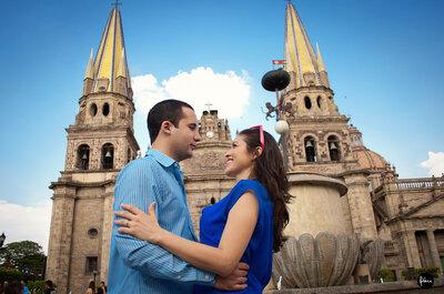 Fotos casuales en pareja de Dani y Jorge