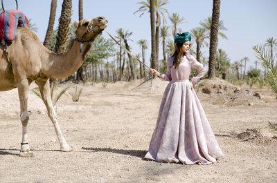 La invitada de boda perfecta: exotismo y magia, la nueva colección de David Christian