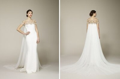 Coleção Primavera 2013 de vestidos de noiva Marchesa