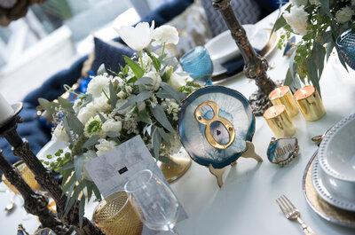 10 angesagte Hochzeitsstile 2017 – Dekorationen & Ideen für kreative Brautpaare