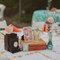 Puntos focales en forma vintage para la decoración de tu boda - Foto One Love Photo