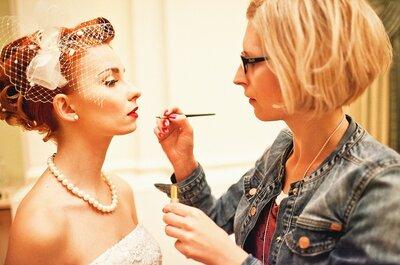 Panna Młoda w stylu VINTAGE: makijaż ślubny