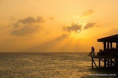 Casamento de Liza e James: mini wedding de conto de fadas nas Ilhas Maldivas