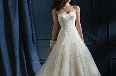 Colección Sapphire, los vestidos de novia más espectaculares de Alfred Angelo