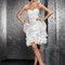 Krótka sukienka ślubna La Perle od Emmi Mariage na rok 2012