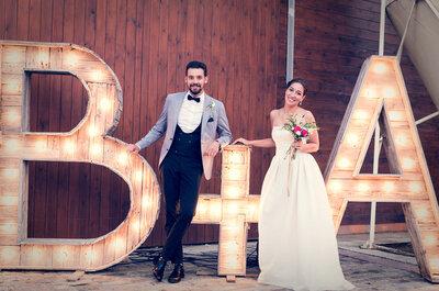 Como decorar o casamento com letras gigantes: dicas LINDAS!