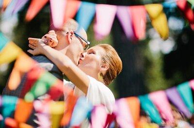 Moderne Hochzeitsdekoration: Geometrische Formen im Trend