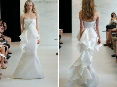 Brautkleider mit langen Schleppen - die schönsten Modelle 2013