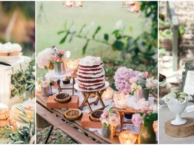 Los Candy bar más originales vistos en Instagram. ¡Tu boda será perfecta si te inspiras en estas 15 imágenes!