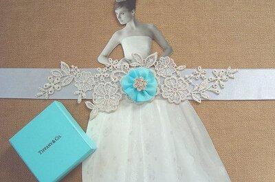 Avoir quelque chose de bleu le jour de son mariage