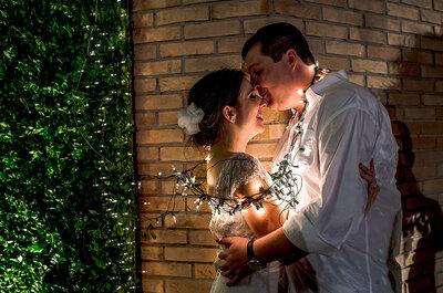 Casamento de Luciana & Rafael: decoração rústica linda e muita animação deram o tom da festa!