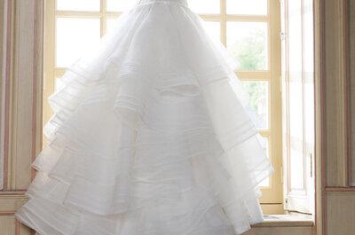 Suknie ślubne 2014: Hanae Mori dla Cymbeline