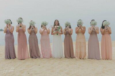 5 dicas para definir os vestidos das suas madrinhas de casamento