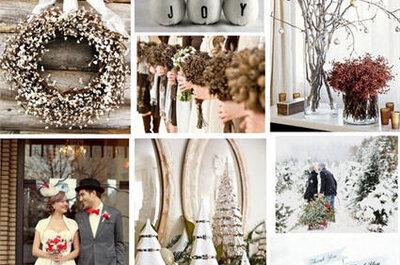 INVIATO A  DI LEI La dolce magia di un matrimonio natalizio