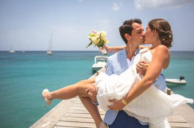 Alexandra et Charly : la famille, les amis et un fabuleux mariage en Martinique