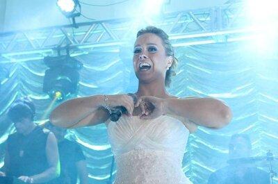 Seja a grande estrela do seu casamento: cante com a sua banda e dê um SHOW