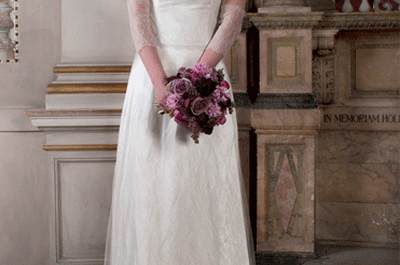 Encantadores vestidos de novia 2013 con inspiración retro de Sanyukta Shrestha