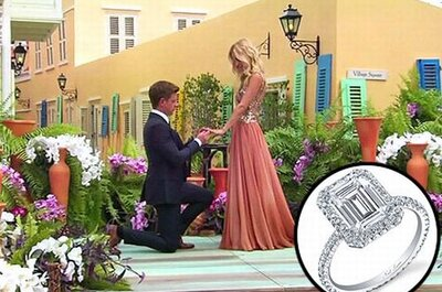 Bachelorette Emily Maynard's Engagement Ring & Dress Details