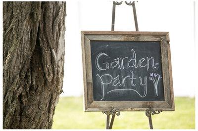 8 ideas románticas de pizarras para bodas