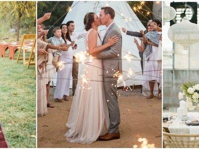 25 ideas perfectas para decoración de boda estilo boho-chic 2017. ¡Inspírate en ellas!