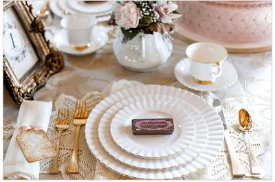 Real Decor: Decoración de boda inspirada en la elegante María Antonieta