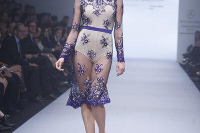 Glamour materializado: La apuesta de David Salomón en vestidos de fiesta ¡te conquistará!