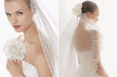 Velos para novia 2014: ¡hay mucho de donde elegir!