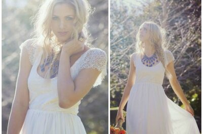 Rustykalne i bardzo romantyczne suknie ślubne Grace Loves Lace