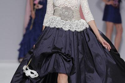 Os vestidos de festa e noiva de Matilde Cano 2014