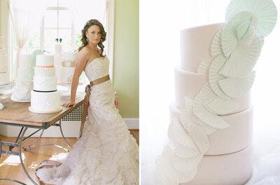 Tendencias en tortas de bodas, ¡imaginá la tuya!