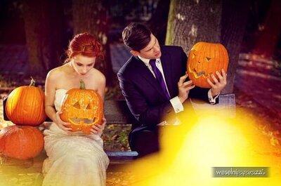 Sesión fotográfica para bodas inspirada en Halloween