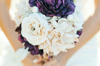 10 ramos de novia redondos como inspiración para tu boda
