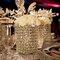 Vasos con diamantes y copas al estilo de Jennifer Lopez