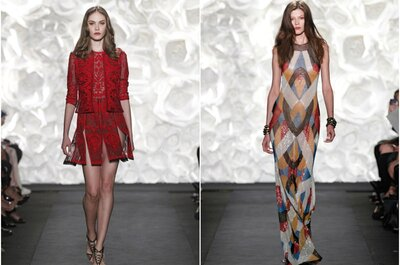Daring wedding guests with prints for 2015