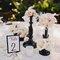 Detalhes de decoração preto e branco no seu casamento. Foto: La Dolce Vita