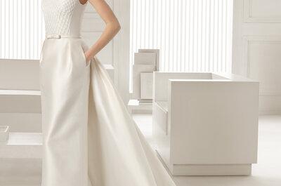 Les robes de mariée droites : des modèles simples et élégants