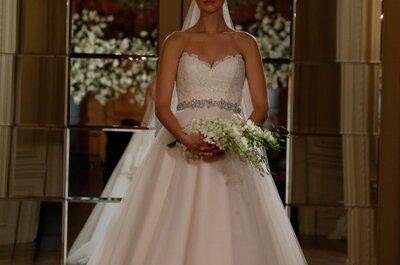 Leyenda de elegancia y misticismo: Así lucen los vestidos de novia 2015 de Romona Keveza