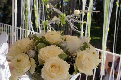 Strass et paillettes : une décoration de mariage qui brille !