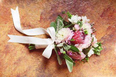 Den Brautstrauß als Erinnerung trocknen