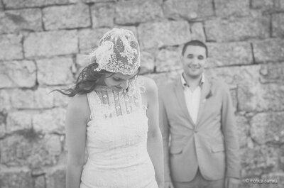 Una boda íntima con mucho encanto en Lleida