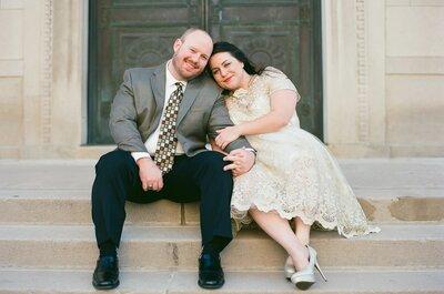 Come scegliere l'abito da sposo plus size perfetto: la parola a dei veri esperti!