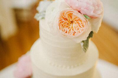40 pasteles de boda que podrás usar para decorar tu gran día: Sabor y estilo