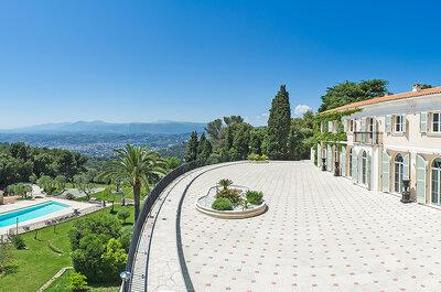 10 lieux de réception idylliques pour votre mariage en Alpes Maritimes