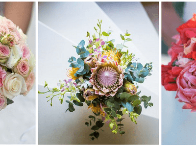 Tips voor het kiezen van je bruidsboeket: ieder seizoen zijn eigen bloemen
