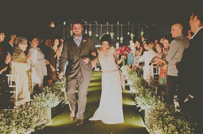 Cerimônia de casamento budista no jardim de casa: Real Wedding Camila e Bruno