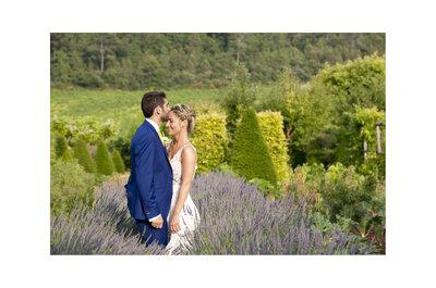 Charlotte et Yann : Un mariage champêtre qui sent bon la lavande et une cérémonie laïque émouvante