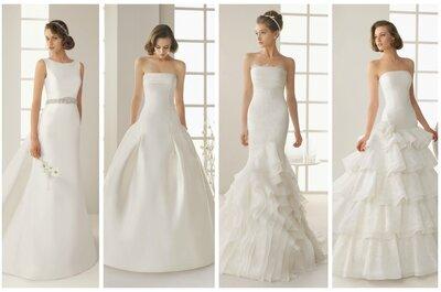 Rosa Clará i wyjątkowa kolekcja sukien ślubnych Two 2013