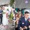 Serpentinas y arroz para celebrar una boda entre una española y un mejicano. Foto: Sara Lobla