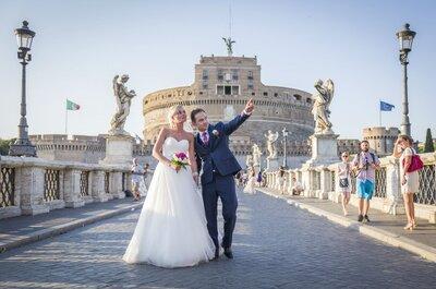 Piękny ślub w Bazylice San Pancracio w Rzymie. Włoski ślub, który zachwyca i oko!