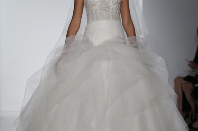 Suknnie ślubne 2015: Kenneth Pool- New York Bridal Week